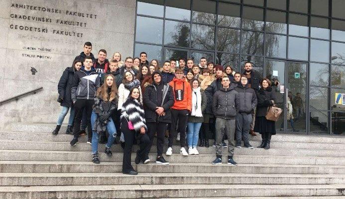 Posjet Ucenika Obrtnicke I Tehnicke Skole Dubrovnik Geodetski Fakultet Sveucilista U Zagrebu